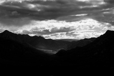 black and white landscape photography by colin Stephenson